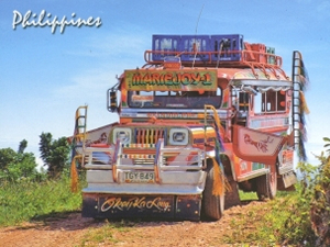Picture of a jeepney